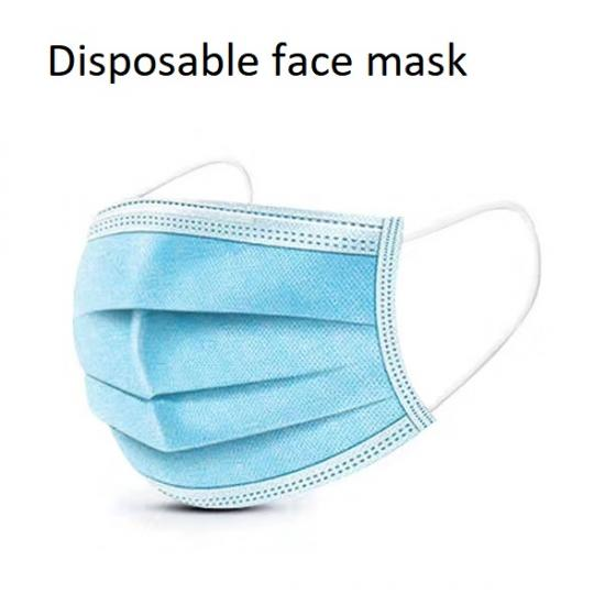 3 ply dustproof face mask