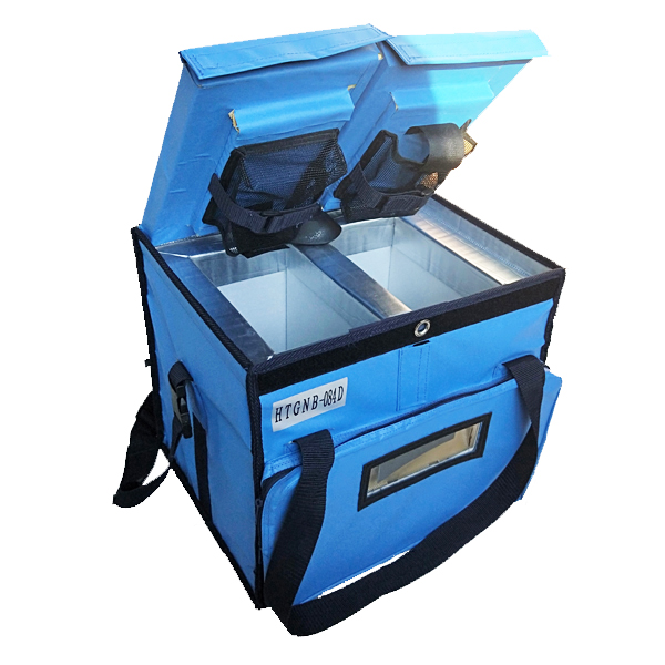 The difference between double compartment cold chain box and normal cooler box